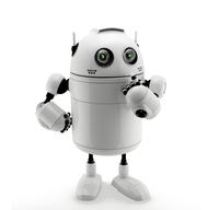 cobot, beveiligingsrobot behulpzame collega