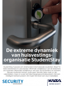 Case study toegangscontrole: De extreme dynamiek van huisvestingsorganisatie StudentStay