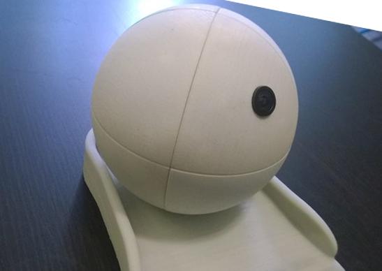 Sensor Sphere BRam de BRuijn