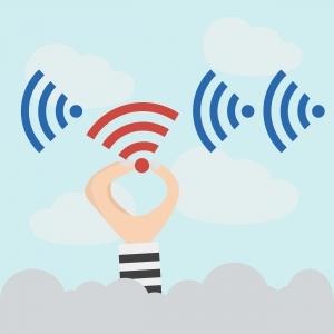 Gebruik onbeveiligd wifi-netwerk
