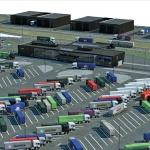 Haven Rotterdam opent 'slimme' truckparking