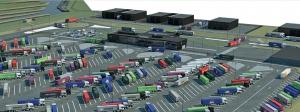 Trucking parking Maasvlakte Plaza