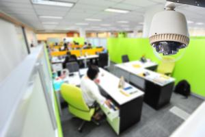 Cameratoezicht op de werkplek