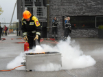Jeugdbrandweer krijgt bhv-diploma