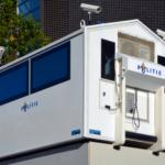 Mobiele politiepost en cameratoezicht in Johan Huizingalaan