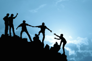 Samenwerkien in een team