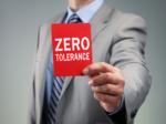 Zero tolerance beleid