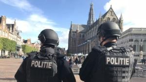 beveiliging stadhuis in Haarlem verder opgevoerd