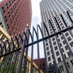 De ministeries van Veiligheid & Justitie en Binnenlandse Zaken in Den Haag