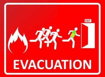 vluchtgedrag bij brand - evacuatie