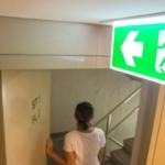 safety, security, nooduitgang, veiligheid, risico, brandveiligheid, brandwerende deuren, toegangscontrole