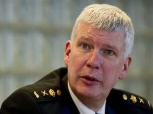 Henk van Essen, korpschef, politie