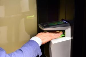 Toegangscontrole, Idema, biometrie, vingerscanner