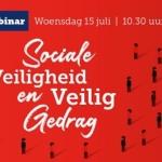 webinar sociale veiligheid en veilig gedrag