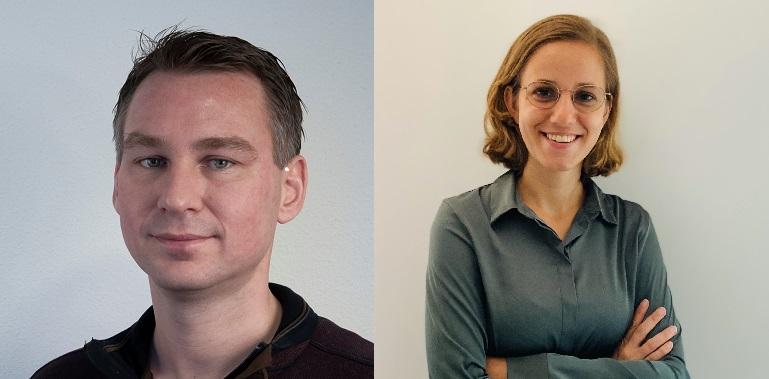 Niels Hilderink en Tess Goudsmit