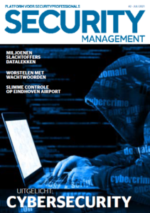 Cover Security Management Magazine 2021-2