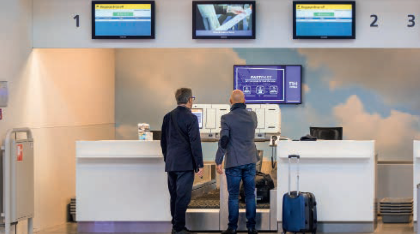 inchecken Eindhoven Airport