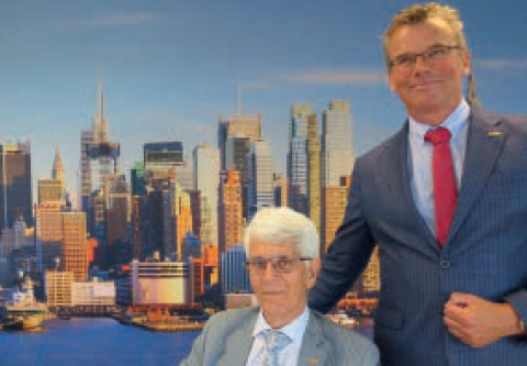 Rob Ackx (links) en Frank van der Linden.